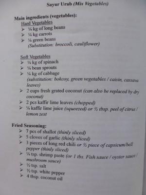 Sayur Urab 1